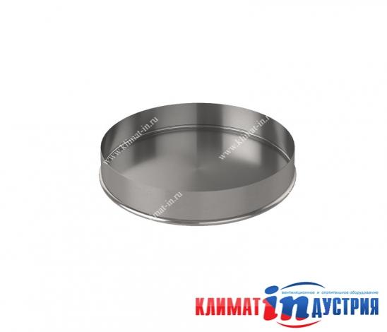 Торцевая заглушка круглая для воздуховода из оцинкованной и нержавеющей стали