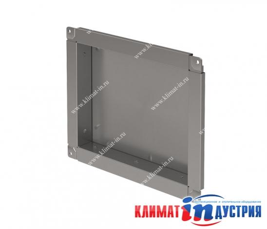 Торцевая заглушка прямоугольная для воздуховода из оцинкованной и нержавеющей стали