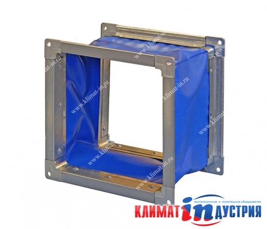 Вставка гибкая квадратная для вентилятора